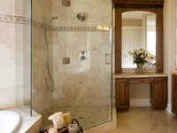 Residential Maid Service in Arlington, Texas | The Pampered House - shower